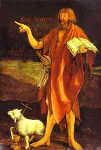 Grunewald, John the Baptist